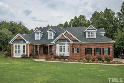 Fuquay Varina Single Family Home For Sale: 7929 Twin Pines Way