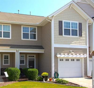 Morrisville Townhouse For Sale: 205 Suffolk Green Lane