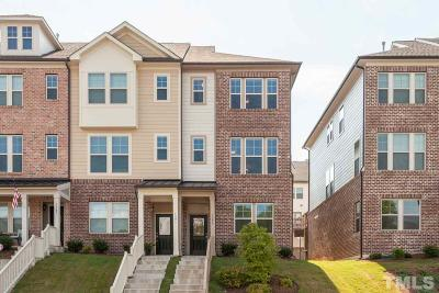 Apex Townhouse For Sale: 1395 Town Home Drive