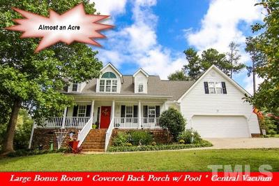 Johnston County Single Family Home For Sale: 185 Wintergreen Drive