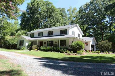 Pittsboro Single Family Home For Sale: 12 Crosswinds Estates Drive