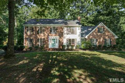 Cary Single Family Home Contingent: 900 Queensferry Road