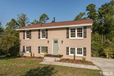 Raleigh Single Family Home Contingent: 1533 N King Charles Road