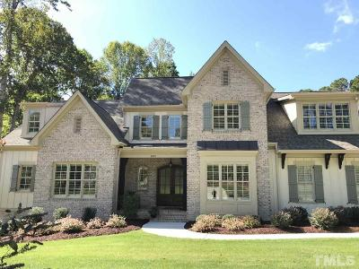 Wake County Single Family Home For Sale: 6925 Bartons Bend Way