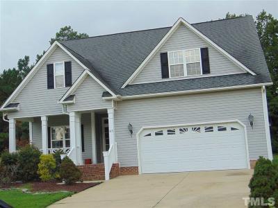 Garner Single Family Home For Sale: 85 Great Oak Drive
