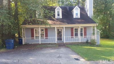 Durham Single Family Home For Sale: 3 Old Towne Place