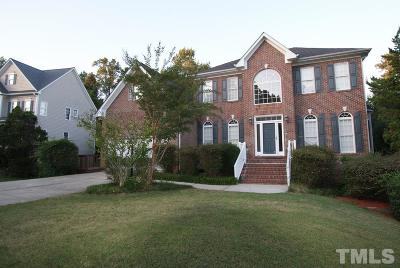 Raleigh Single Family Home Contingent: 1713 High Holly Lane