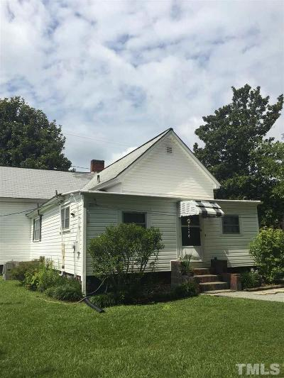 Durham Single Family Home For Sale: 2608 W Main Street