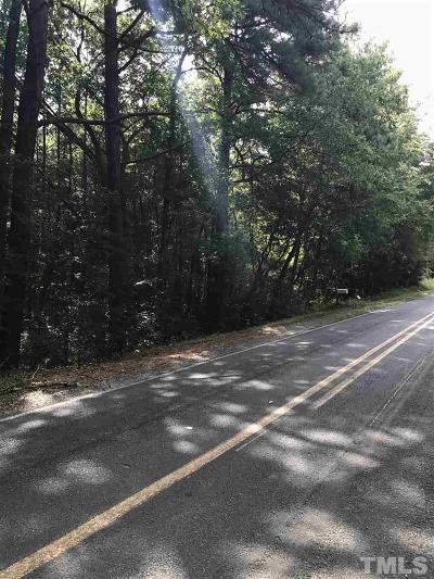 Chapel Hill Residential Lots & Land Contingent: 0-B Ferguson Road