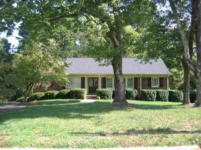 Raleigh Single Family Home For Sale: 3700 Fernwood Drive