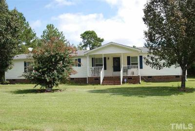 Sampson County Manufactured Home For Sale: 1298 Obj Road