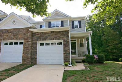 Apex Townhouse For Sale: 137 Jamison Woods Lane