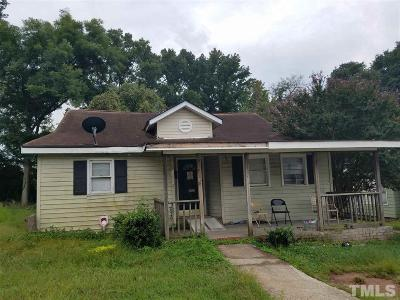 Durham Single Family Home Contingent: 1008 Holloway Street