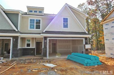 Wake Forest NC Townhouse For Sale: $275,000
