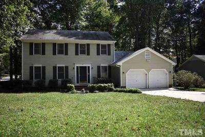 Cary NC Single Family Home For Sale: $305,000