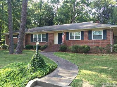 Durham Single Family Home For Sale: 1502 Sycamore Street