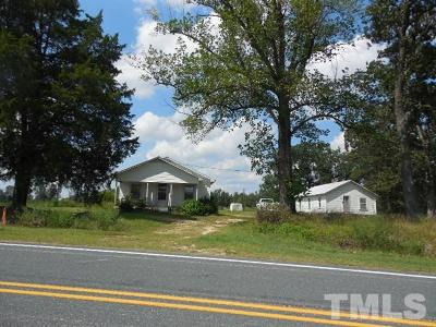 Harnett County Single Family Home For Sale: 864 Ruffin Road