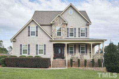 Wake Forest NC Single Family Home For Sale: $265,000