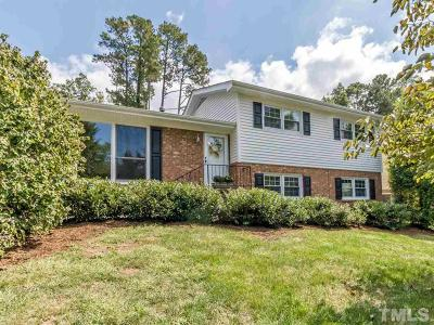 Raleigh Single Family Home Contingent: 4516 Keswick Drive