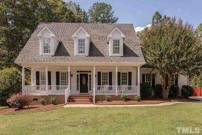 Apex Single Family Home Contingent: 2409 Rabbit Walk Lane