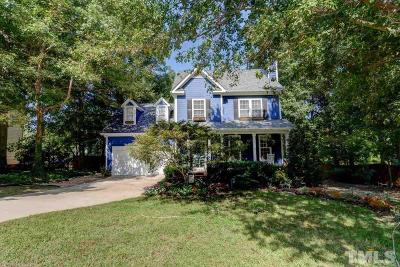 Holly Springs Single Family Home For Sale: 204 Somerset Farm Drive