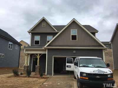 Clayton NC Single Family Home For Sale: $209,900