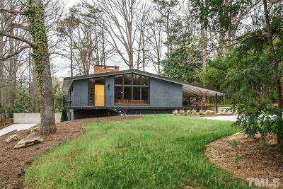 Raleigh Single Family Home Contingent: 3322 Ocotea Street