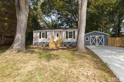 Raleigh Single Family Home For Sale: 109 Blanchard Street