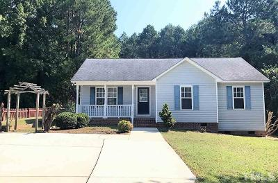 Clayton NC Single Family Home For Sale: $139,900