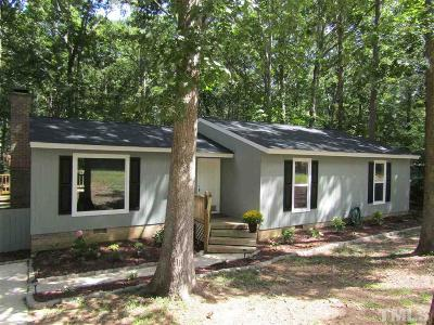 Cary NC Single Family Home For Sale: $249,500