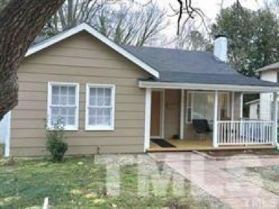 Fuquay Varina NC Single Family Home For Sale: $110,000
