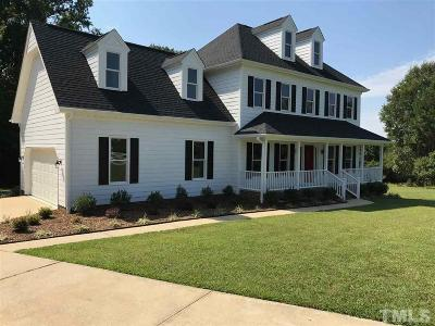 Johnston County Single Family Home For Sale: 202 Willow Court