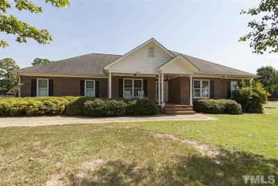 Garner Single Family Home For Sale: 1875 Benson Road