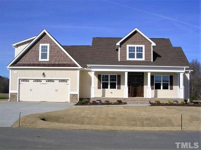 Johnston County Single Family Home For Sale: 69 Opry Lane #Lt68