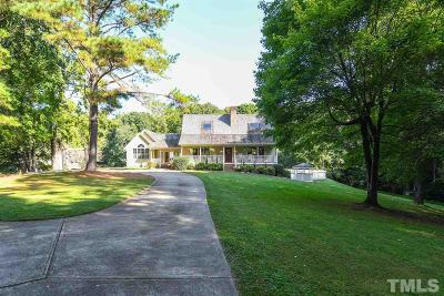 Wake Forest Single Family Home For Sale: 2433 Winding Forest Trail