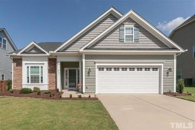 Wake County Single Family Home For Sale: 244 Sweet Violet Drive