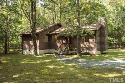 Chapel Hill Single Family Home For Sale: 2423 Overland Passage