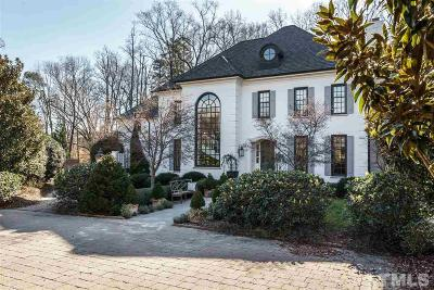 Wake County Single Family Home For Sale: 317 Cambridge Woods Way