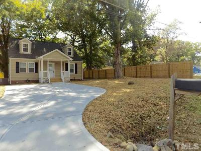 Durham Single Family Home For Sale: 2520 Ross Road
