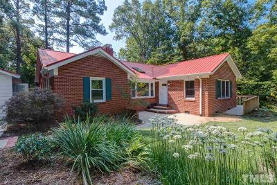 Chapel Hill Single Family Home For Sale: 700 Williams Circle