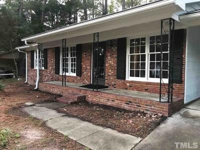 Garner Single Family Home For Sale: 1002 Springview Trail