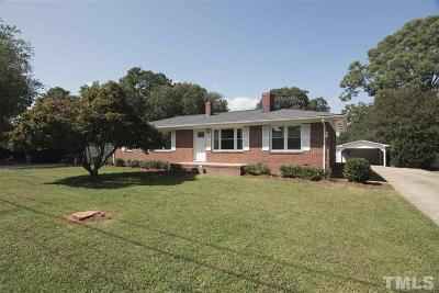 Garner Single Family Home Contingent: 908 Forest Drive