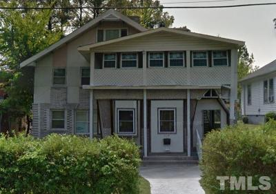 Durham County Multi Family Home For Sale: 518 Nash Street