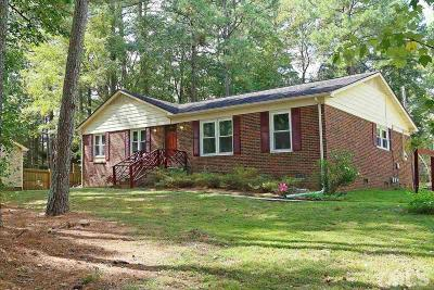 Durham County Single Family Home For Sale: 4900 Wineberry Drive