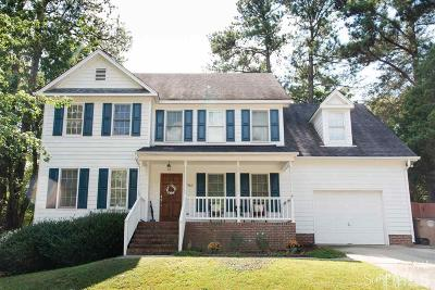 Wake Forest Single Family Home For Sale: 983 St Catherines Drive
