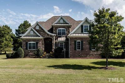 Wake County Single Family Home For Sale: 10754 Staghound Trail