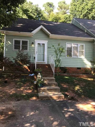 Raleigh Townhouse For Sale: 5610 Kimsey Court