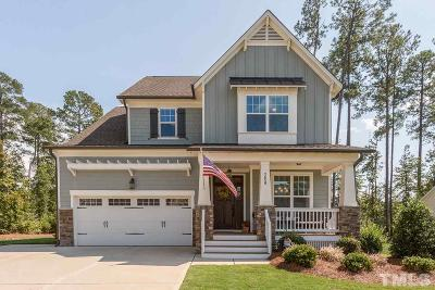 Apex Single Family Home Contingent: 2659 Needle Pine Drive
