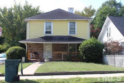 Single Family Home For Sale: 304 E Umstead Street