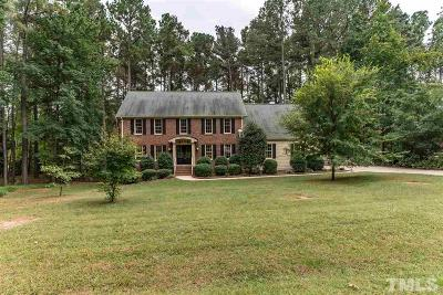 Wake County Single Family Home For Sale: 621 Misty Isle Place
